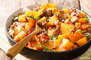picture of a lentil dahl