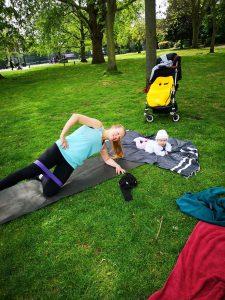 Mum and baby postnatal  training